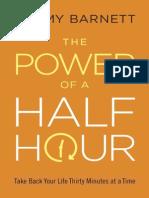 The Power of a Half Hour by Tommy Barnett (Sneak Peek)