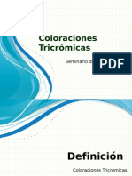 Coloraciones Tricrómicas