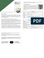 Verus Model II Instructions 2007