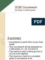 coursework info