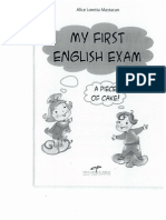 My First English Exam