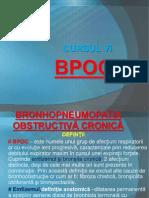 Bronhopneumonia obstructiva cronica