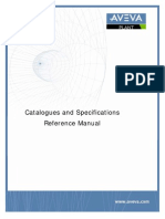 Catalogues and Specifications Reference Manual