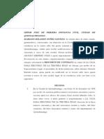 32 JUICIO SUMARIO DE RESCISIÓN DE CONTRATO