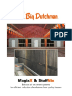 Big Dutchman Abluftreinigung Exhaust Air Treatment MagixX Und StuffNix En