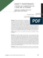 Sobre  Páramos  y  Sangurimas un diálogo entre las narrivas de Rulfo y de la Cuadra