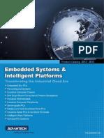 Advantech > 2012 Embedded System Intelligent Platforms Product Catalog
