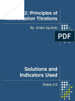 Acid-base Titrations 2