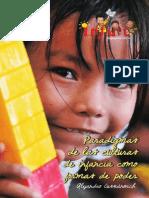 PARADIGMAS DE LAS CULTURAS DE INFANCIA COMO FORMAS DE PODER