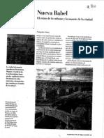 Nueva Babel, Francoise Choay