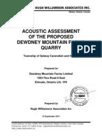 Acoustic Assessment - Original