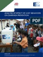 Analysis of Effect of 4 Key Behaviors
