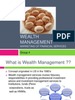Marketing Aspect of Wealth Management
