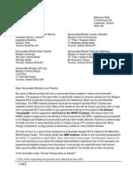 Ontario Gvmt - Legitimate Concerns - NRWC Sept 30 2013