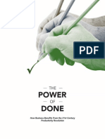 Power of Done