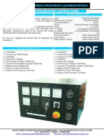 Blades Power Engine Control Panel