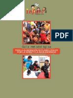 Guía metodológica PARA LA ELABORACIÓN DE PLANES LOCALES POR LA NIÑEZ Y LA ADOLESCENCIA