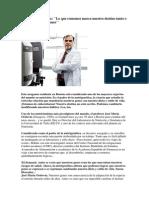 Artículo sobre nutrición y genes