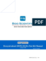 1064-01 MaxSignal® DON ELISA Test Kit Manual