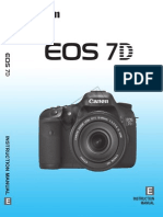 Canon EOS 7D Owners Manual