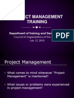 Project Management Training