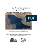 Lake Management Plan