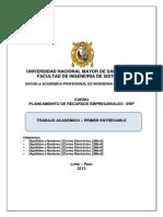 Modelo Trabajo ERP 2
