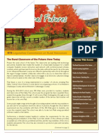Fall Rural Futures Newsletter 2013