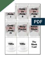 Sharpe Practice Card Deck