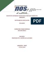 SYLLABUS I - Software de Aplicacion