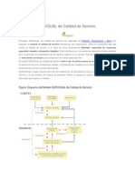 1. El Modelo SERVQUAL de Calidad de Servicio