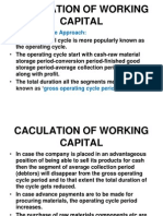 Calculation of Working Capital (1)