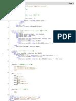 Javascript Ajax sample Html