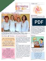 Rose of Light Healing Newsletter October 2013