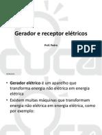 Aula 14 - Gerador e receptor elétricos