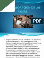 LA REVALORACIÓN DE LAS PYMES
