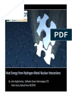 Heat Energy from Hydrogen-Metal Nuclear Interactions