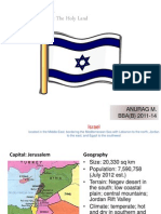 Country Analysis Israel