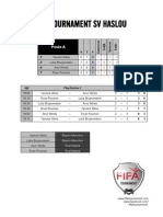 Uitslagen FIFA Tournament SV Haslou