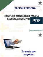 Presentación Personal CTPGA