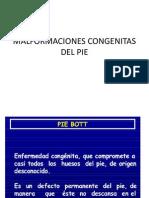 Malfomaciones Del Pie