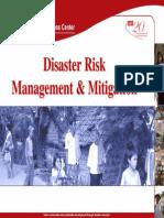 disaster risk management