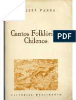 Violeta Parra- Cantos Folklóricos Chilenos- Con Gastón Soublette