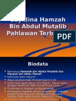 Pel 22 Sayidina Hamzah Bin Abdul Mutalib Pahlawan Terbilang