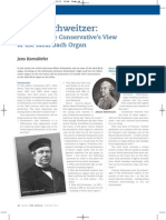 schweitzer article in the organ page 1