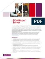 Significant Server Spanish
