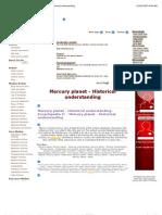 Mercury Planet_ Encyclopedia II - Mercury Planet - Historical Understanding