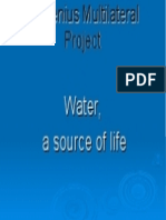 Water, A Source of Life