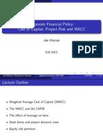 CF Project Risk WACC(2)