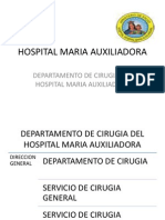 Hospital Maria Auxiliadora Tratamiento